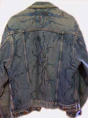 Blue Jean Jacket 1