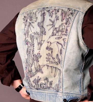 Blue Jean Jacket 3