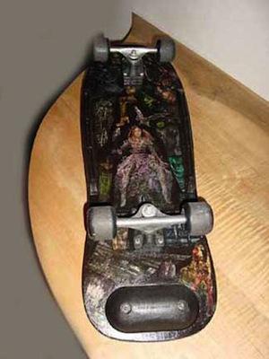 Skateboard-Bottom